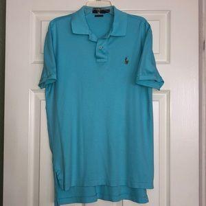 Super soft Pima cotton men's Small Polo shirt